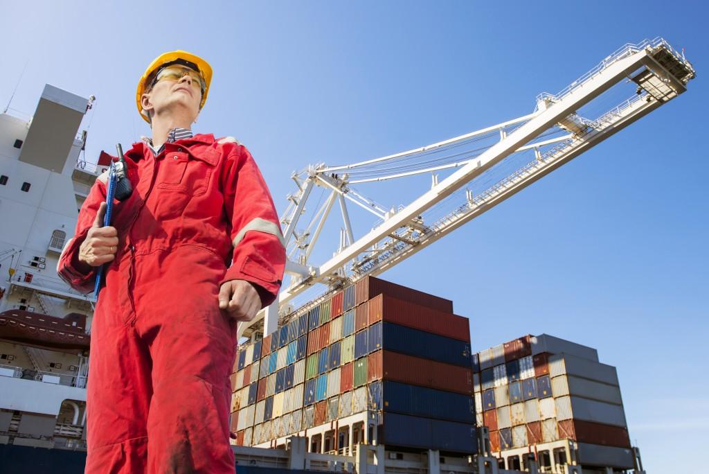 Logistics port